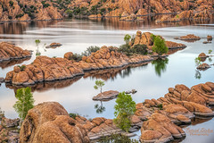 Watson Lake at sunset -Explore (Patrick Dirlam) Tags: arizona trips watsonlake