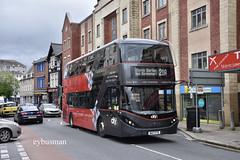 Go Ahead Plymouth Citybus 556, WA17FTD. (EYBusman) Tags: go ahead plymouth citybus bus coach city centre bretonside alexander dennis enviro 400 mmc spark route 21 wa17ftd eybusman
