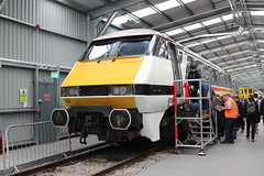 "91119 ""Bounds Green INTERCITY Depot 1977 - 2017""; Crewe Diesel Depot; 08-06-2019 (graeme8665) Tags: crewedieseldepot openday intercity lner"