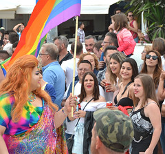 Sitges Pride march (M McBey) Tags: pride lgbt crowd sitges spain people catalonia procession color colour