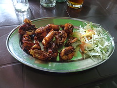 Prawns fry (joegoaukfishcurryrice) Tags: joegoauk goa fish rice curry