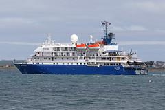 MV Sea Spirit (Roger Wasley) Tags: mv seaspirit poseidonexpeditions kirkwall harbour orkney scotland