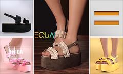 EQUAL -  Frida Platform (EQUAL SL) Tags: secondlife slink shoes belleza maitreya legacy platform access equal
