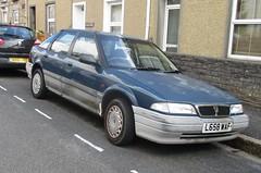 1994 Rover 216 SLi (occama) Tags: rover 1994 216 sli blue faded old car cornwall uk cornish british l658waf
