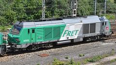 BB 75113, Longueau - 11/06/2019 (Thierry Martel) Tags: longueau bb75000 locomotivethermique sncf