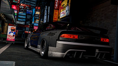 dont you wanna be part of the experience? (fabium) Tags: assettocorsa nissan 180sx s13 akiba sr20 jdm
