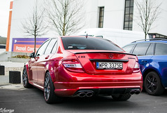 Mercedes-Benz C63 AMG w204 (Wawrzyn) Tags: mercedes mercedesbenz amg w204 car cars carspotting sportcar cclass photography passion 35mm nikon d3300