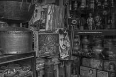 tu mera HERO hai | Chor Bazaar | Sony A6400 | 28mm FE2 | Humayunn Niaz Ahmed Peerzaada (Humayunn Niaz Ahmed Peerzaada) Tags: blackandwhite monochrome streetphotography mumbaistreetfoodphotography chorbazaar jackieshroff hero sonyilce6400 sonyfe28mmf2 charminarcigarette mumbai india