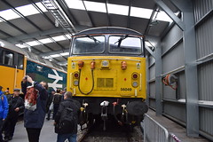 All Change - Crewe Open Day (Pavorossi) Tags: crewe crewedieseldepot openday class56 56049 robinoftemplecombe colas
