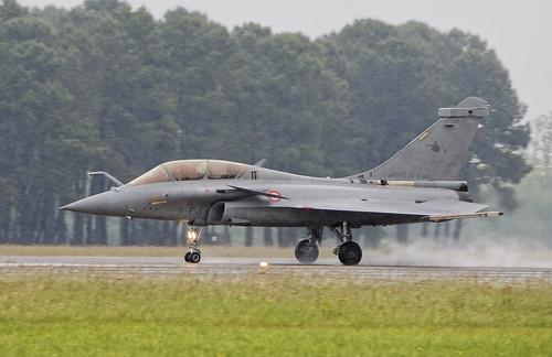4-FJ Takeoff in the rain