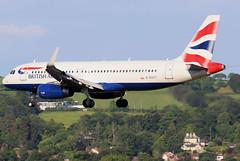 G-EUYT (GH@BHD) Tags: geuyt airbus a320 a320200 ba baw britishairways speedbird shuttle unionflag aircraft aviation airliner bhd egac belfastcityairport