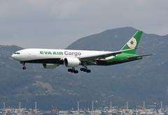 EVA Air Cargo Boeing 777-F5E B-16782 (EK056) Tags: eva air cargo boeing 777f5e b16782 hong kong chek lap kok airport
