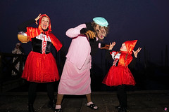 QUINTESSENZA VENEZIANA 2019 849 (aittouarsalain) Tags: venise venezia carnevale carnaval costume masque mask loup lupo gondole gondola chaperonrouge