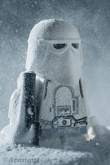 The Avatar Outtake (Avanaut) Tags: avanaut starwars snowtrooper hoth stormtrooper snow blizzard originality toy toyphotography theempirestrikesback lego minifigure