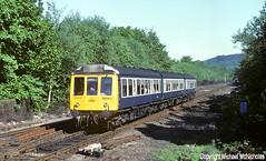 Chester Class 108 At Hebden Bridge (Michael McNicholas) (Neil Harvey 156) Tags: railway class108 ch377 hebdenbridge caldervalley dmu firstgenerationdmu multipleunit derbybuilt railblue michaelmcnicholas