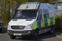 SV10 BLK (S11 AUN) Tags: police scotland mercedes sprinter psu support unit pov public order vehicle carrier 999 emergency response van sv10blk