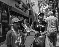 Market Street, 2018 (Alan Barr) Tags: philadelphia 2018 marketstreet marketstreeteast marketeast eastmarketstreet street streetphotography streetphoto blackandwhite bw blackwhite mono monochrome candid city people panasonic gx85