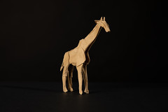 Giraffe (Djangorigami) Tags: origami photography papier pliage modèle animals colors