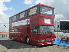 802 Volvo Olynpian Alexander (1995) (robertknight16) Tags: volvo sweden 1990s olympian alexander bus hospitality dublin silverstoneclassic m638xjk