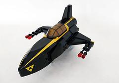Blacktron F40 (John C. Lamarck) Tags: lego space spaceship blacktron
