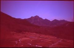 (✞bens▲n) Tags: pentax lx velvia iso50 fa 43mm f19 limited film analogue slide expired landscape night longexposure stars mountains yamanashi japan nightscape
