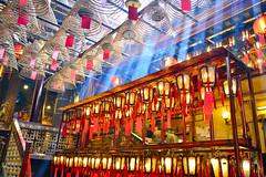 聖光普照(DSC_4419) (nans0410(busy)) Tags: hongkong temple rays lighting 香港 西環 文武廟 斜射光 centralwesterndistrict sheunstation centralstation manmotemple