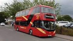 Southern Transit CM2 (GB18 AEC) Barnham 12/6/19 (jmupton2000) Tags: gb18aec alexander dennis enviro 400 city mmc southern transit bus