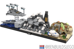 "Lego Star Wars - ""Solo"" Skyline MOC (2)"