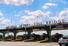 Chicago Skyway Toll Bridge (Cragin Spring) Tags: chicago chicagoillinois chicagoil city southside sky clouds toll tollbridge chicagoskyway illinois il midwest unitedstates usa unitedstatesofamerica urban bridge