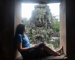 Temple Girl (Corey Hamilton) Tags: cambodia nikond850 siemreap temple travel mils siemreapprovince