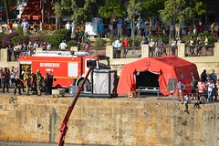 BOMBEROS AYUNTAMIENTO DE SEVILLA - RÍO GUADALQUIVIR- DIFAS-2019 (DAGM4) Tags: españa sevilla andalucía spain espanha europa europe espana espagne espagna espainia espanya difas2019 emergency bomber firefighter bomberos spanien bombero bombeiro emergencias bomberosayuntamientodesevilla bomberosdesevilla emergencias112