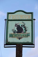 The Black Cat, Lye Green (Ray's Photo Collection) Tags: chesham pub sign theblackcat lyegreen publichouse buckinghamshire bucks