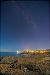 Milky Way over Kiama and Fisherman... (e0nn) Tags: steveselbyphotography steev steveselby pentax pentaxk1 ricoh milkyway stars night nocturnal longexposure bombo lr614 kiama visitkiama affinityphoto affinity