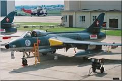 Hunter Mk58, Pat. suisse, Troupe d'aviation (OlivierBo35) Tags: spotter spotting hunter suisse