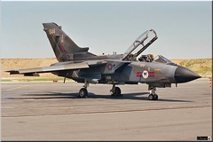 Tornado Gr1, RAF, n°45sq (OlivierBo35) Tags: spotter spotting orelans oan lfoj raf tornado