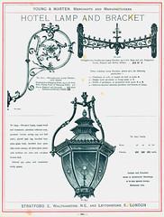 Young & Marten. Hotel Lamp and Bracket (growlerthecat) Tags: gaslighting gaslamp youngandmarten