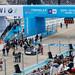 Formel E BMW i8 Roadster Safety Car vor dem Rennstart auf der Rennstrecke