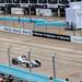 Berlin 2019 E-Prix- Günther verteidigt seine Position gegen den deutschen Rennfahrer Pascal Wehrlein