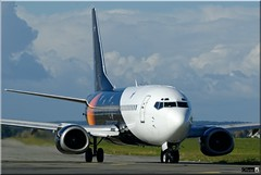Boeing 737-33A, Titan Airways, G-ZAPZ (OlivierBo35) Tags: boeing b737 titan rennes lfrn rns spotter spotting
