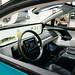 Innenraum des Byton M-Byte des selbstfahrenden Autos