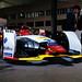 Audi formula E car, front view