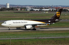 Airbus Industrie (UPS) Airbus A300F4-622R F-WWSX (N173UP) (RuWe71) Tags: airbusindustrie vkaib ups unitedparcelservice 5xups airbus airbusa300 a300 a300f a300600 a300f4622r airbusa300600 airbusa300f4622r fwwsx msn868 n173up fwwag toulouseblagnac toulouseblagnacairport toulouse blagnac aéroportdetoulouse aéroporttoulouseblagnac tls lfbo widebody twinjet freighter cargo runway cargoaircraft a306 testbed
