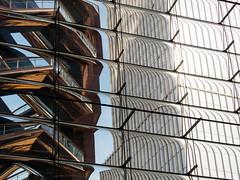 deFORMation (m_laRs_k) Tags: vessel hudsonyards usa manhattan architexture architecture gold copper diagonal lines skyscraper nyc newyork olympus lumix mft m43 35100 longlens tele 纽约 19miles ньюйо́рк