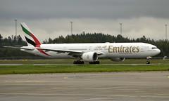 Emirates A6-EBK, OSL ENGM Gardermoen (Inger Bjørndal Foss) Tags: a6ebk emirates boeing 777 osl engm gardermoen