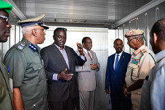 Image result for AMISOM Equips Somalia's Security Forces with Specialised Containers