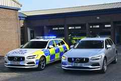 Volvo V90 Traffic Cars (S11 AUN) Tags: police scotland volvo v90 d5 auto estate unmarked anpr video equipped traffic car rpu trpg trunkroadspatrolgroup roads policing unit 999 emergency vehicle vdivision ko66nxz