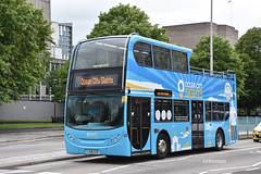 Go Ahead Plymouth Citybus 468, LX06EZD. (EYBusman) Tags: go ahead plymouth citybus devon bus coach royal parade city centre alexander dennis enviro 400 open top ocean sights london central regional transport buses lx06ezd eybusman
