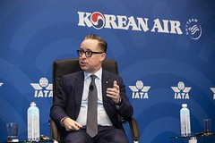 IATA AGM 018 (Travel Extra) Tags: agm alanjoyceceoofqantas iata iataagm2019annualgeneralmeeting internationalairtransportassociation korea nataliamroz seoul travel airtravel airlines airtransport aviation