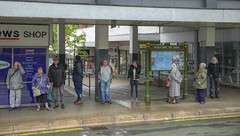 LineUp (Tony Tooth) Tags: nikon d600 tamron 2470mm people line queue busstop busstation leek staffs staffordshire