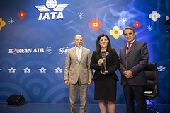 IATA AGM 015 (Travel Extra) Tags: agm akbaralbakerceoofqatar alexandredejuniacceoofiata christineourmièresceoofflybe iata iataagm2019annualgeneralmeeting internationalairtransportassociation korea nataliamroz seoul travel airtravel airlines airtransport aviation